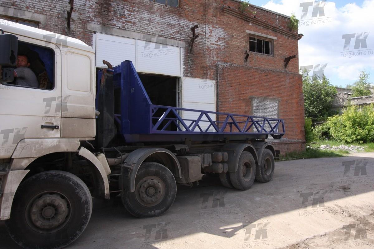 Платформа для перевозки емкостей