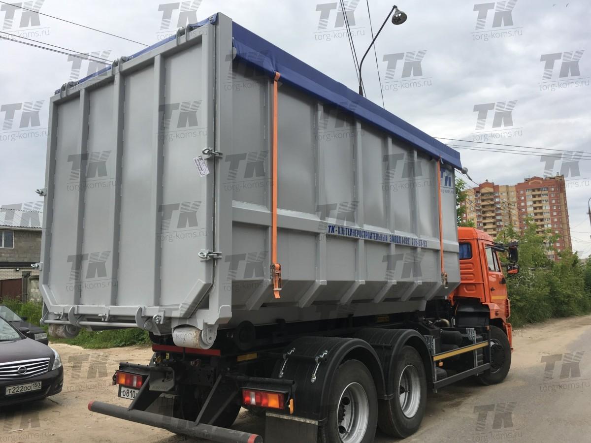 Контейнер для перевозки БИООТХОДОВ 20 м3