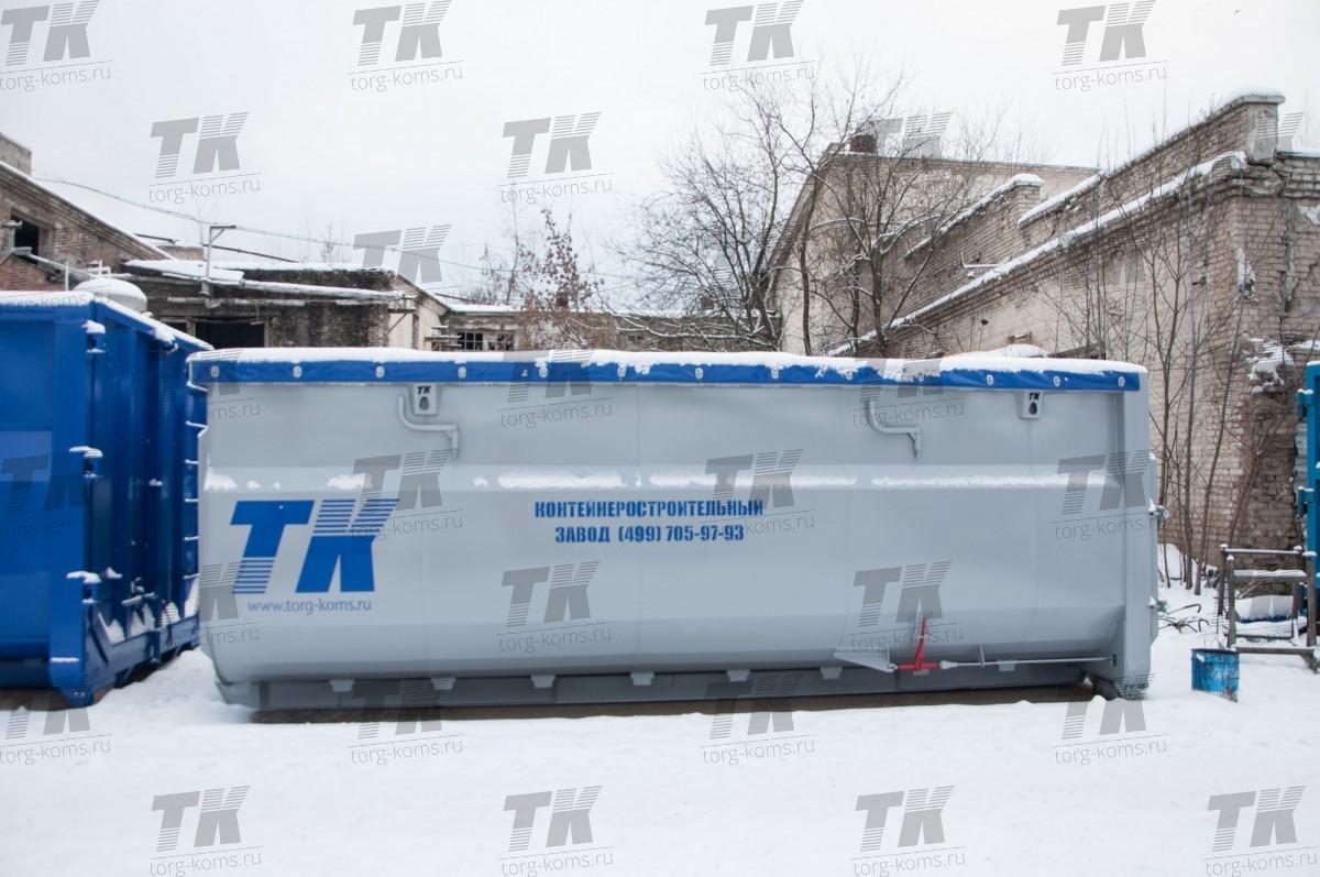 Контейнер для перевозки БИООТХОДОВ 24 м3