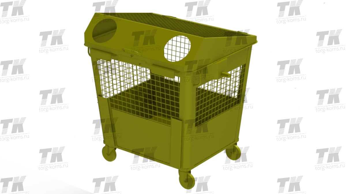 Контейнер РСО 1,1 м3 (под металл)