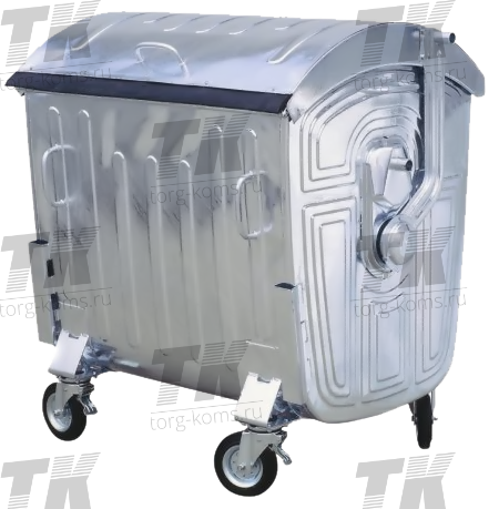"""Оцинкованный евроконтейнер для мусора 1,1 """"Standart"""""""