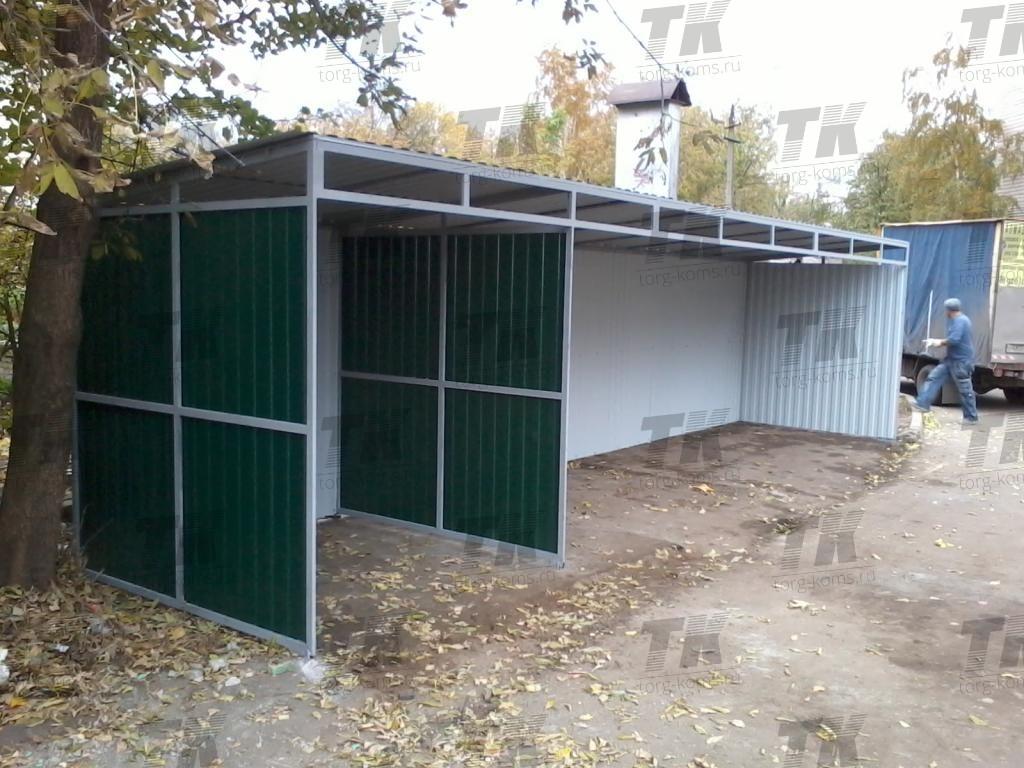 Площадка на 3-и контейнера