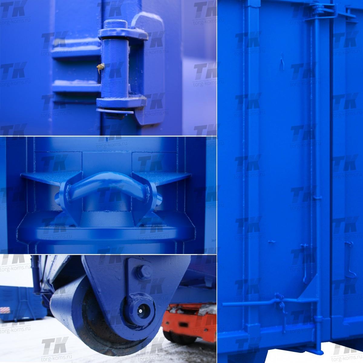 Контейнер для перевозки металлолома 36 куб. м.