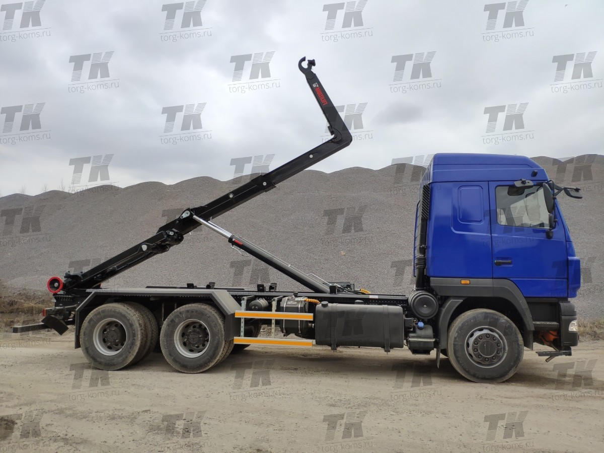 Мультилифт HIAB на базе шасси МАЗ