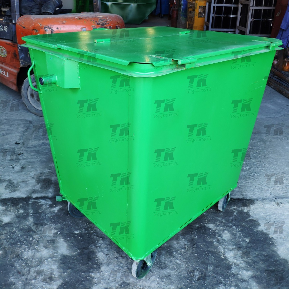 Контейнер 1.1 м3 для мусора