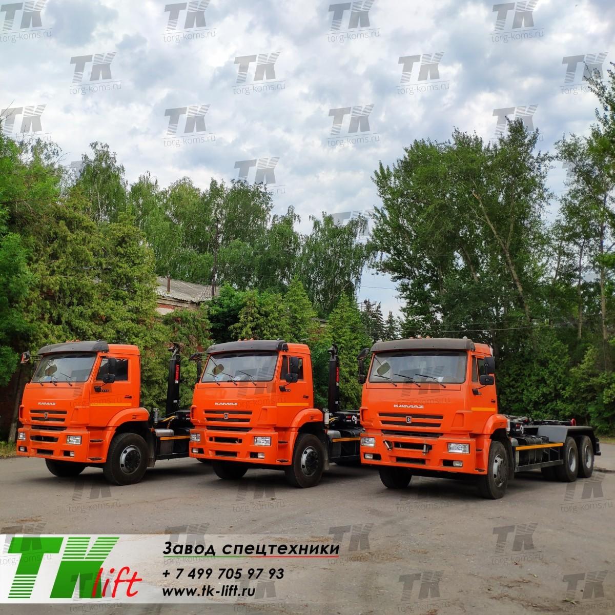 Мультилифт HIAB Optima 20S59 на шасси КАМАЗ 6520-3072-53