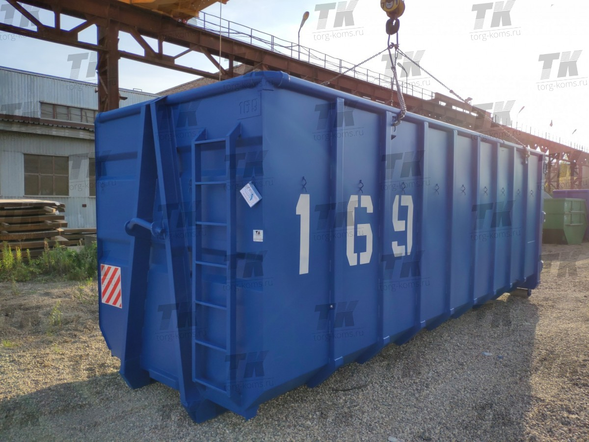 Контейнер для перевозки древесных отходов и опилок