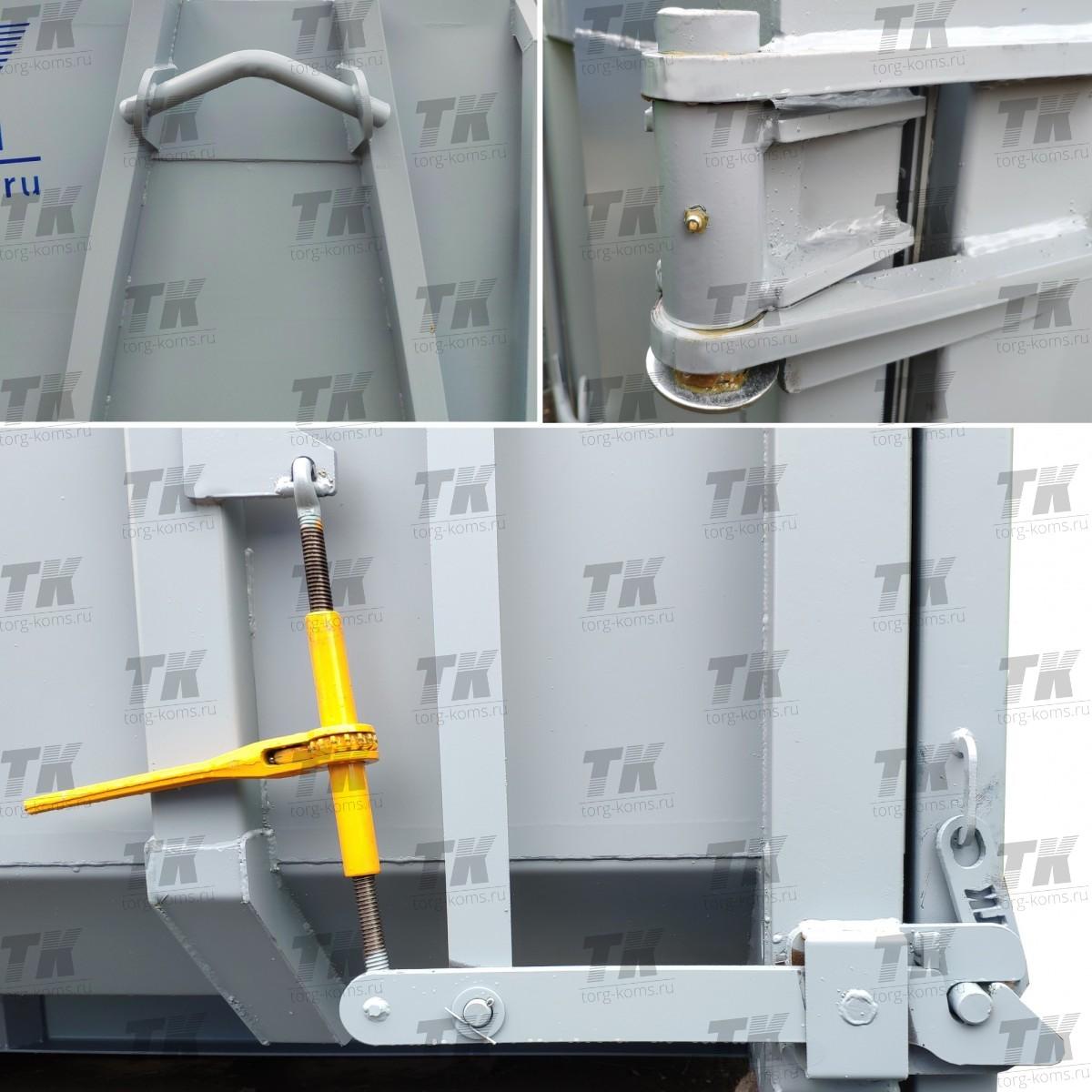 Контейнер под мультилифт с герметичной дверью 15м3