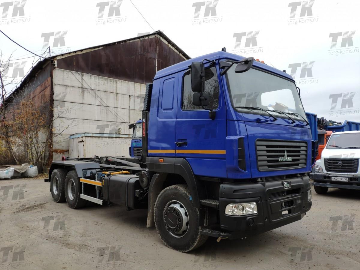 Мультилифт HIAB Optima 20S59 на базе шасси МАЗ 6312С9