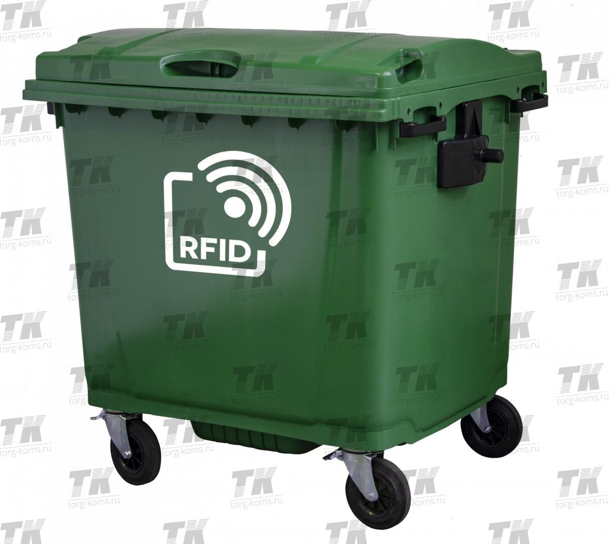 Умный пластиковый евроконтейнер c меткой RFID