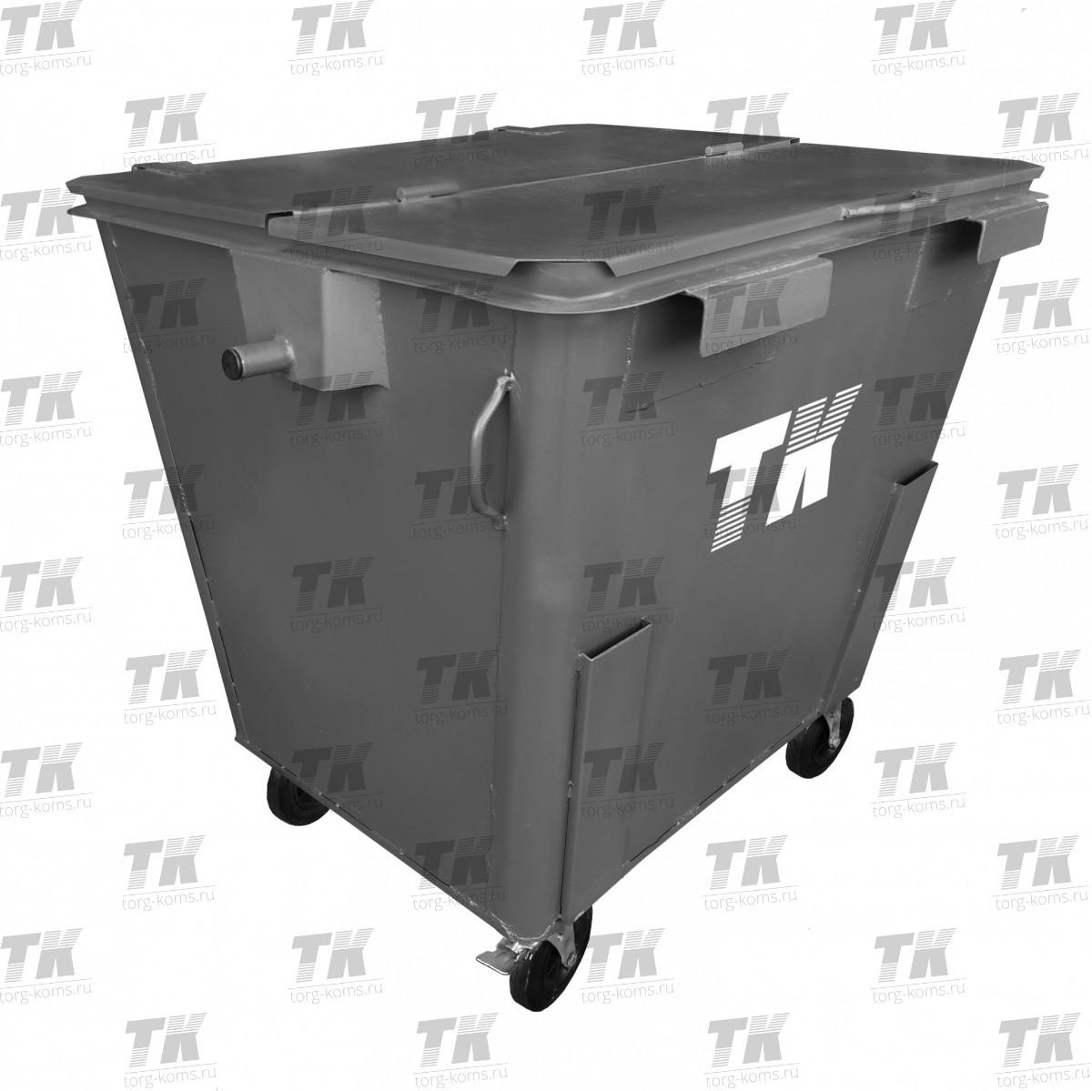 """Контейнер 1.1 м3 """"Standart"""" для отходов"""