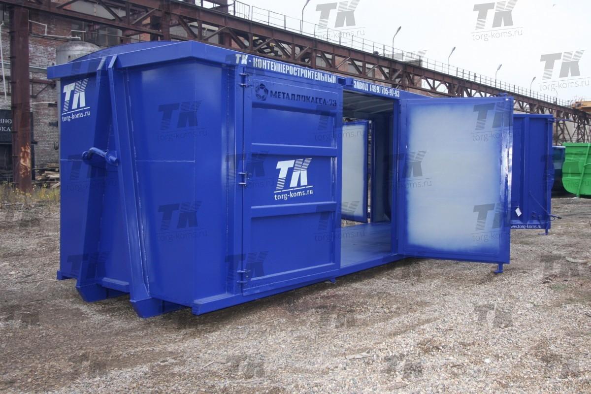 Распашной контейнер под мультилифт